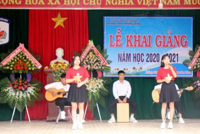 Trường THPT Krông Bông tổ chức Lễ khai giảng năm học 2020 -2021