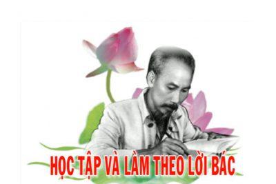 Cuộc thi viết và thuyết trình về tấm gương điển hình trong học tập  và làm theo tư tưởng, đạo đức, phong cách Hồ Chí Minh